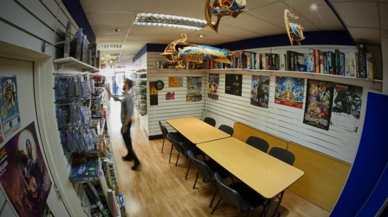Buy board games and play them at Leisure Games in London