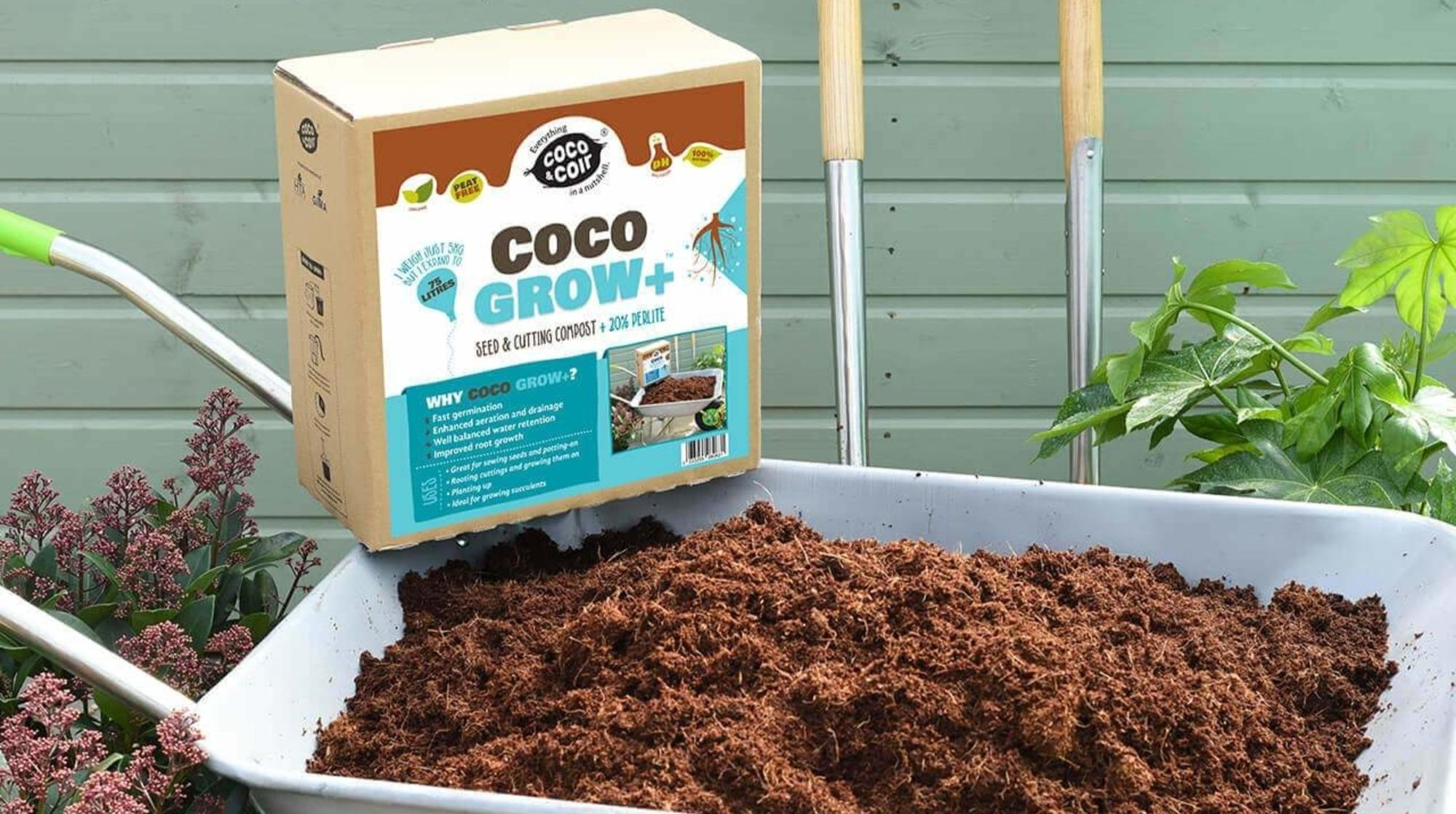 Coco & Coir sells all-natural compost to improve your garden bed